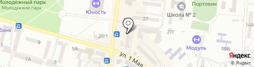 Ювелирная мастерская на карте Ильичёвска