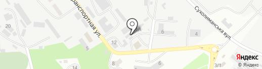 Олир на карте Ильичёвска