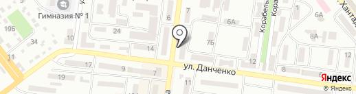Грааль на карте Ильичёвска