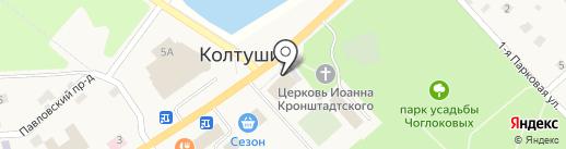 Стайл на карте Колтушей