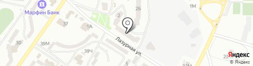 Аметист-Транс на карте Ильичёвска