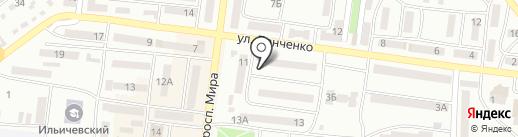 Храм Святителя Николая Чудотворца на карте Ильичёвска