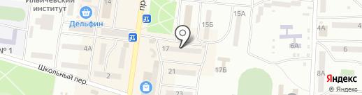 Комод на карте Ильичёвска