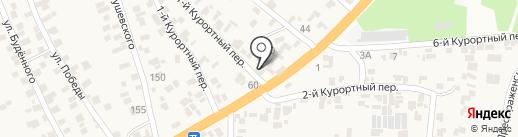 Автомойка на ул. Вернидуба на карте Усатово
