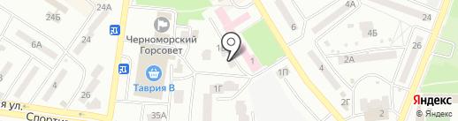 Полония-2006 на карте Ильичёвска