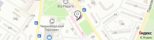 Марфин Банк на карте Ильичёвска