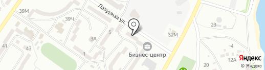 Багира на карте Ильичёвска