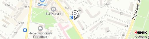 Belvedere на карте Ильичёвска