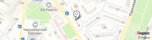 Элегант на карте Ильичёвска