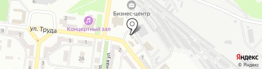 Зеленхоз, КП на карте Ильичёвска