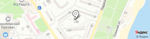 Детский сад-ясли №21 на карте Ильичёвска