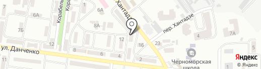 Компьютерная мастерская на карте Ильичёвска