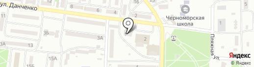 Ощадбанк на карте Ильичёвска