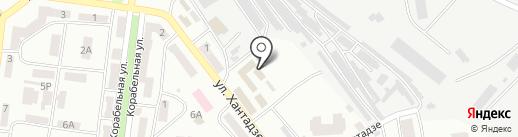 Милиция на карте Ильичёвска
