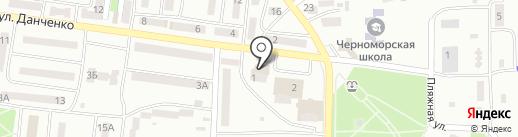 Банкомат, УКРЕКСІМБАНК на карте Ильичёвска