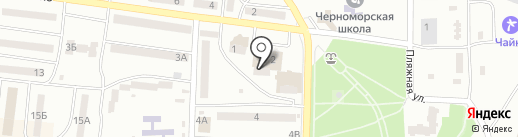 Банкомат, УкрСиббанк на карте Ильичёвска