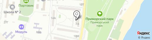 Нова пошта, ТОВ на карте Ильичёвска