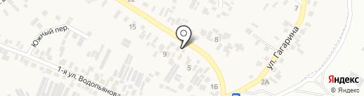Шиномонтажная мастерская на ул. Ленина на карте Усатово