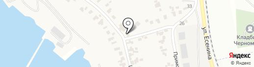 Анастасия на карте Бурлачьей Балки