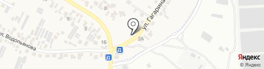 Магазин автотоваров на карте Усатово