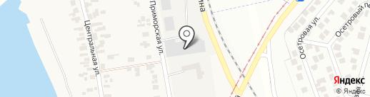Золотое руно на карте Бурлачьей Балки