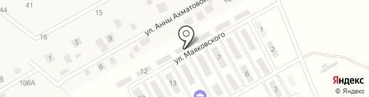 Шагрово на карте Кальтино