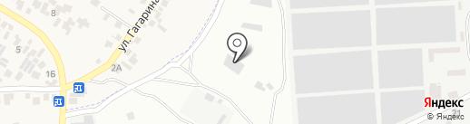 Транс-кон на карте Усатово