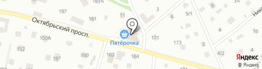Мельница на карте Всеволожска