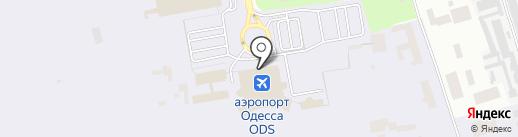 Поехали на карте Одессы