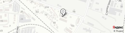 Наша игрушка Алекс на карте Одессы