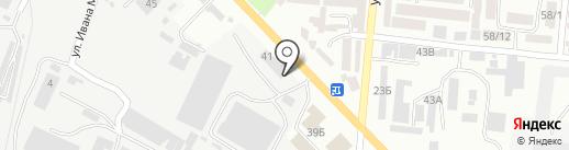 Авто Элемент на карте Одессы