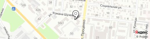 Style на карте Одессы