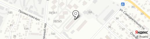 Сити Парк на карте Одессы