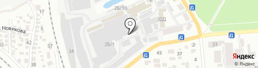 Киссон на карте Одессы