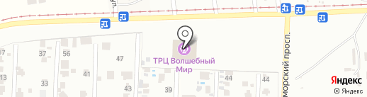 Кимс на карте Мизикевичи