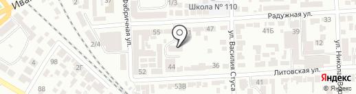 Автостекла на карте Одессы