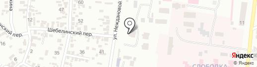 Одесский областной онкологический диспансер на карте Одессы