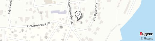 Наутилус на карте Мизикевичи