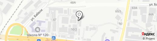 Блокнот на карте Одессы