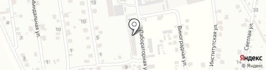 Продуктовый магазин на Лабораторной на карте Мизикевичи