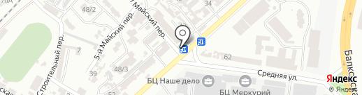 Маир на карте Одессы
