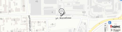Артлазер на карте Одессы