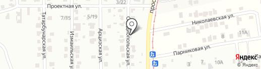Салон-магазин на карте Мизикевичи