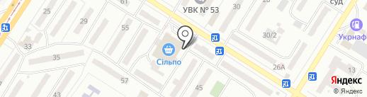 Магазин цветов на карте Одессы