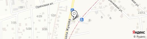 АЗС БРСМ-Нафта на карте Мизикевичи