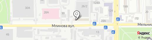 Фабрика полимеров на карте Одессы