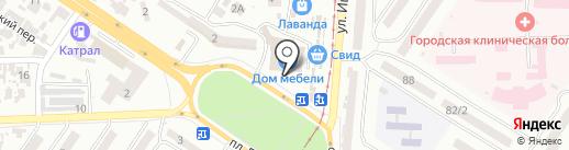 Kartissa на карте Одессы