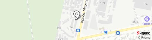 Магазин автозапчастей Hyundai, KIA на карте Одессы