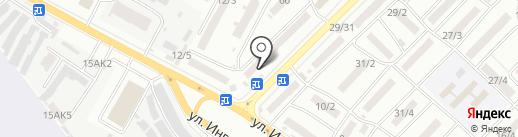 Торгово-сервисный центр на карте Одессы