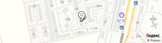 Радужный на карте Мизикевичи